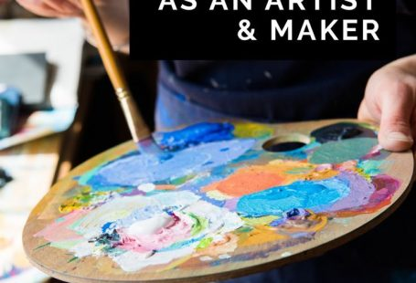 How to find your confidence as an artist and maker, and banish the
