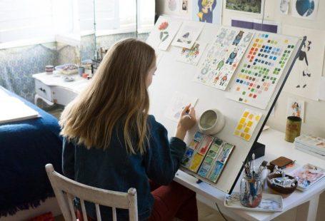 Discover the whimsical studio of Sydney Illustrator Chloe Jasmine Harris