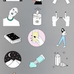 Instagram Artist Names To Look Up For Incredible Story Sticker Aesthetics - DesignTAXI.com #fotogeschenk
