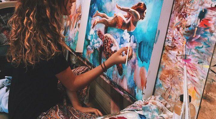 Interview: 16-Year-Old Artist Dimitra Milan Paints Her Wildest Dreams - My Modern Met