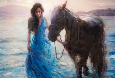 Interview: Painter Visualizes Powerful Women as Goddesses of the Sea