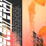 Jellyfish Graphic Design Phone Background Wallpaper Desktop High Def Peach Retro Cyberpunk Future Vapor Vaporwave Grunge Art