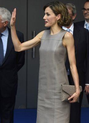 Letizia es esa reina que combina el low cost con las firmas de lujo. También es la reina, nadie sabe por qué, que más compra en Hugo Boss. Una marca que en España había pasado sin pena ni gloria. La verdad que la firma alemana tiene cosas bonitas como el top que la reina llevó ...