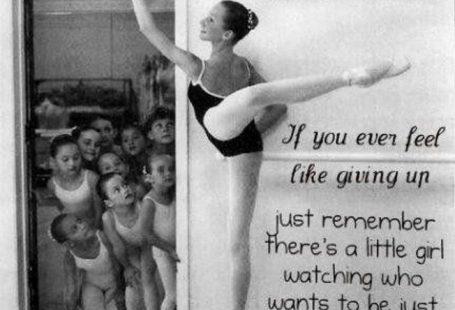 """""""Little Girl Watching"""", Ballett-Zitat - #BallettZitat #Girl #quotLittle #Watchin..."""