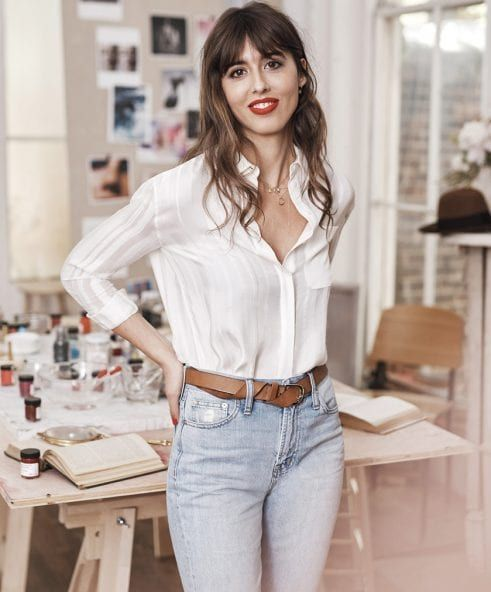 Live Your Chicest Life with These French Beauty Tips Parisian It Girl Violette Wears Perfume to Bed and Never Contours #TheKit #French #Beauty #Tips