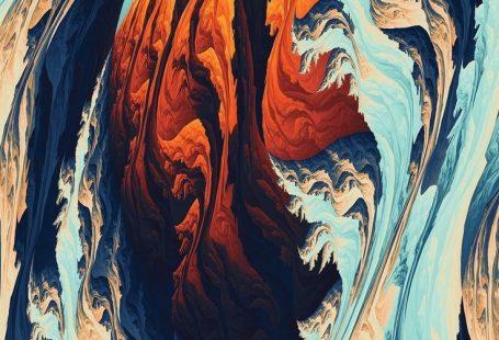 Artist Wallpaper No. 275 [MR Blog] Torrent, pattern, fractal, 1080x1920 wallpaper