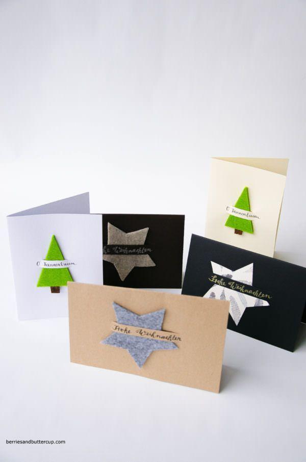 Maak wenskaarten voor Kerstmis #Kerstmis #maak #voor #wenskaarten