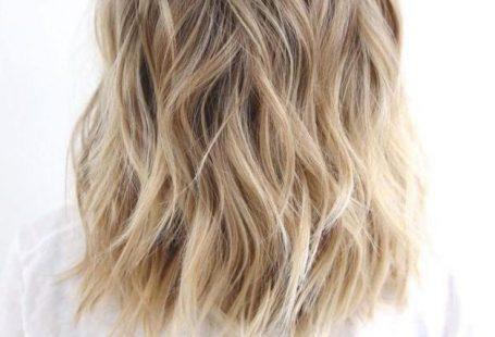 Medium To Long Wavy Brown Blonde Hair #blondehair