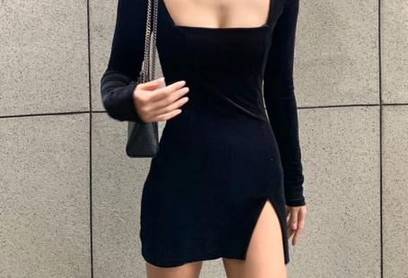 Milena Velvet Black Dress – Velvet Dreams