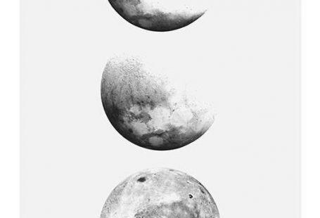 Moon Phase, Affiche dans le groupe Affiches / Graphisme chez Desenio AB (8191)