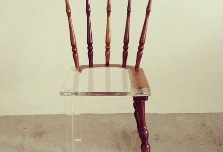 My New Old Chair: Artist Fixes Broken Wood Furniture with Opposing Materials
