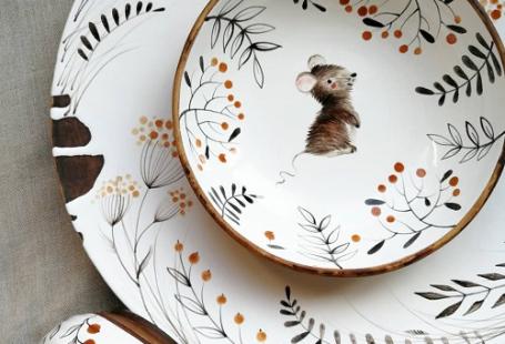 My Owl Barn: Whimsical Ceramic Collection by Ukrainian Artist Julia Osoka