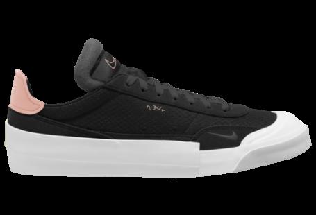 Nike Drop-Type Casual Tennis Shoes - Black / Pink Tint White Zinnia
