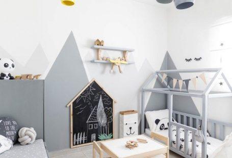 Nursery in scandi style