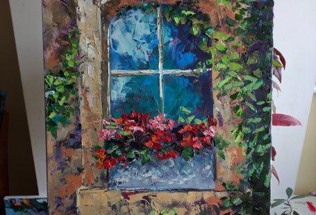 """""""Old-old Window"""" Olena Leus"""