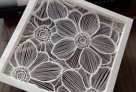 Created by Paper Artist Collective member Naho Katayama.