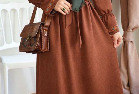 Otantik Stil Elbise