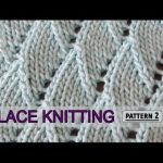 A video on how to knit the Overlapping Waves stitch. For full written instructions, please visit link: www.knittingstitc....