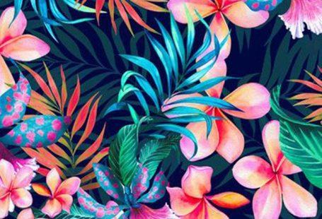 Pattern Floral Art Decoration background