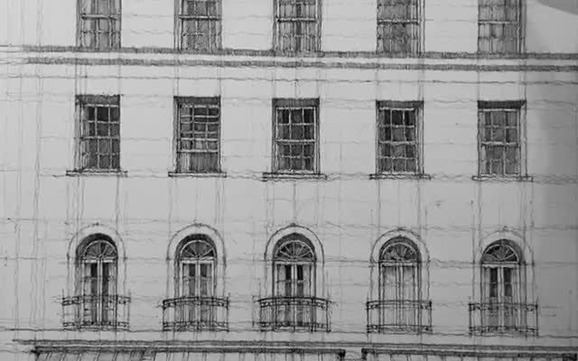 #architecturedrawing #architectureart #sketch #penart #pendrawing