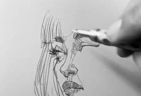 #sketch #drawings #sketchart #efrainmalo #girlsketch
