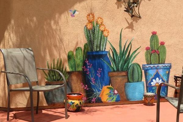 Perfect eyecatching DIY artistic decoration ideas for outdoor areas