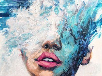 Phillys junger Künstler, Lindsay Rapp, Über weibliche Themen, Wellenabsturz und ...,  #junger #kunstler #lindsay #phillys #themen