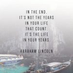 These phone wallpaper quotes to inspire your New Year will motivate your New Years Resolutions. Abraham Lincoln quotes #quotes #phonewallpaperquotes #inspiration