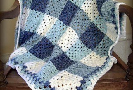 plaid granny blanket