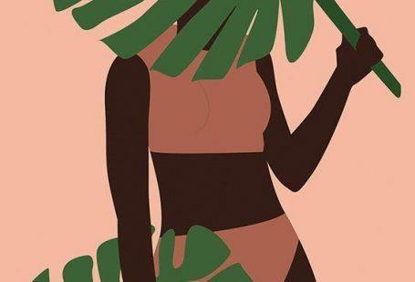Plant lady illustration