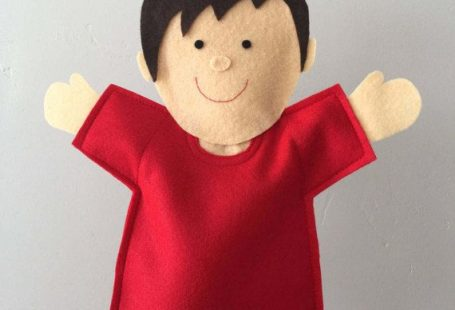 Ready-Made Joy Boy Puppet