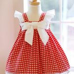 Red Gingham Dress - Kinder Kouture Boutique Clothing - 1
