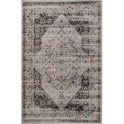 benuta Trends Flachgewebeteppich Frencie Schwarz 120x180 cm - Vintage Teppich im Used-Lookbenuta.de