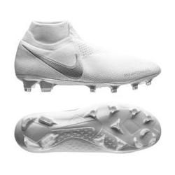 Nike Phantom Vision Elite Df Fg Nuovo - Weiß/Chrome/Silber NikeNike