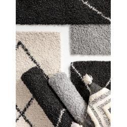 benuta Essentials Hochflorteppich Beni Cream 80x150 cm - Berber Teppichbenuta.de