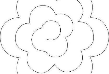 Rolled Flower - style 2