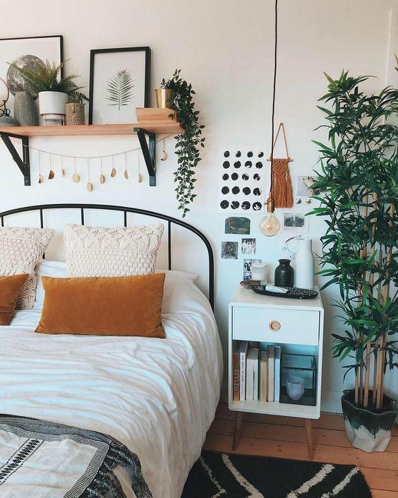 Slaapkamer ; Slaapkamerdecoratie; Kleine slaapkamer; Rust gebied; Decoratiestijl; Huis ... #Decoratiestijl #gebied #huis