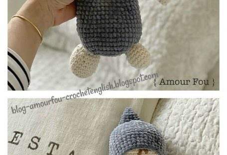 Sleeping amigurumi doll - free crochet pattern | Mindy | 310x455