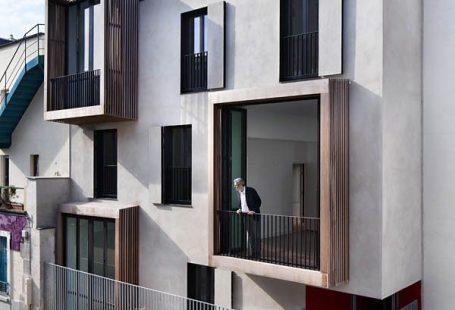 Stilvolle Balkone werden integrale Teile der Fassade ihres Gebäudes  #balkone #fassade #ihres #integrale #stilvolle