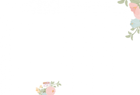 Kindle Watercolor Floral and Pink Bicycle Wallpaper by The Birch Cottage