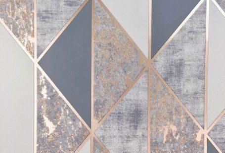 Superfresco Milan Geo Rose Gold Wallpaper 106407