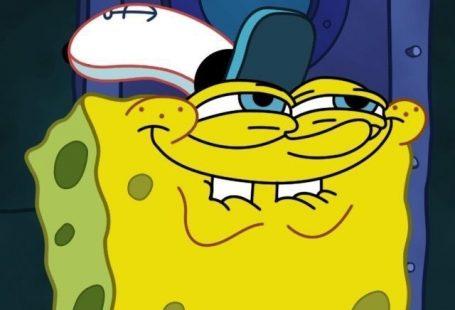 Tapetensperrbildschirm SpongeBob Schwammkopf