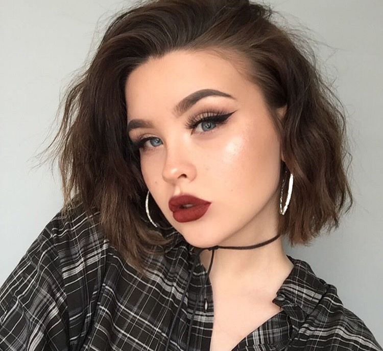Tayloramymcd's makeup look from Instagram.