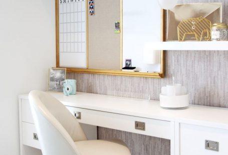 Teen Bedroom Ideas - Niedlicher Schreibtischbereich für Teenager-Mädchen. #kidbedrooms Teen Bedroom Ideas - Niedlicher Schreibtischbereich für Teenager-Mädchen.