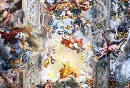 The Allegory (Triumph) of Divine Providence, Palace Barberini, Ceiling by Pietro da Cortona (c. 1633-1639)