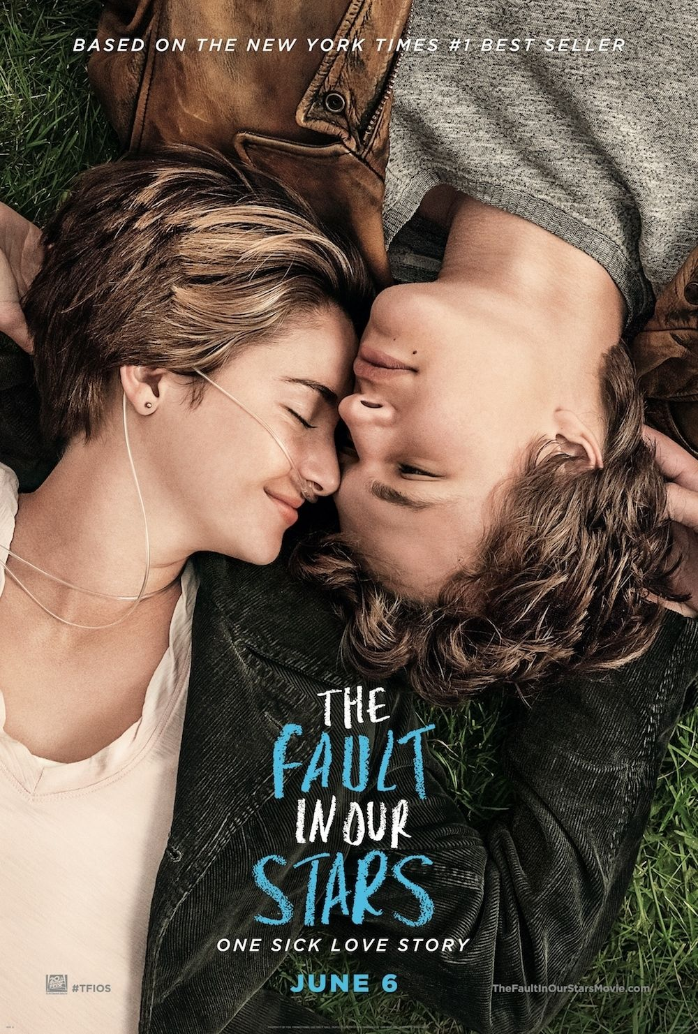 THE FAULT IN OUR STARS official movie poster #TFIOS