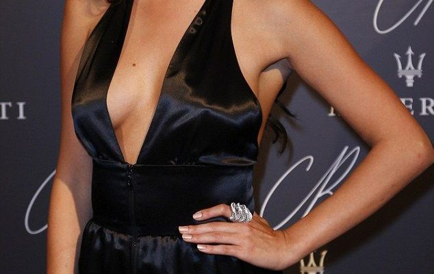 The new face of Hollywood: Gomez was not afraid to show off her figure at the event in a p...