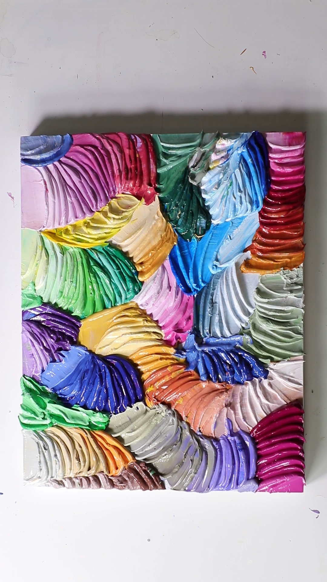 Check out more awesome acrylic paintings by Josie, click here!