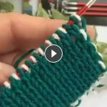 This Is How I Close The Rubber 2X2 - All Knitting Videos