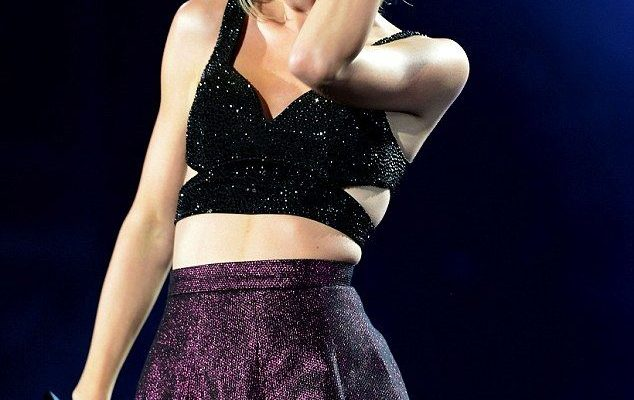 Superstar: The singer, seen at a Chicago concert in July, is known for sending care packag...